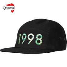 Diamond Hemp 1998 5 Panel Cap Black
