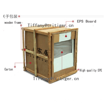 Factory customized modern desk bedside wooden storage cabinet with drawers