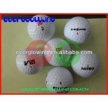 balles de golf éclairées led personnalisées vente chaude 2016