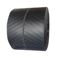 chevron and endless rubber conveyor belt