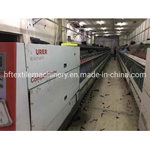 2X Used Saurer Volkmann Compact Two-for One Twister Machine 2014 Year 200 Spindles 166 Size