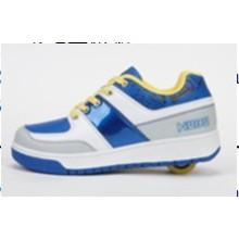 China Wheelys Marca Roller Skate zapatos para adultos, niños Roller zapatos con botón retráctil para el deporte