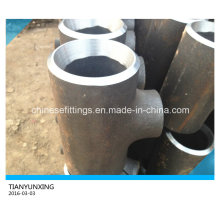 Butt Weld Seamless Alloy Steel Pipe Fitting Reducing Tee