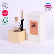 kundenspezifischer weißer Rechteckkartonpapierkasten für Cup