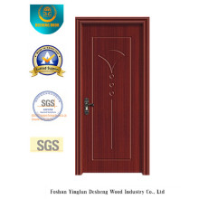 Water Proof Simple Style MDF Door with Solid Wood for Interior (xcl-819)