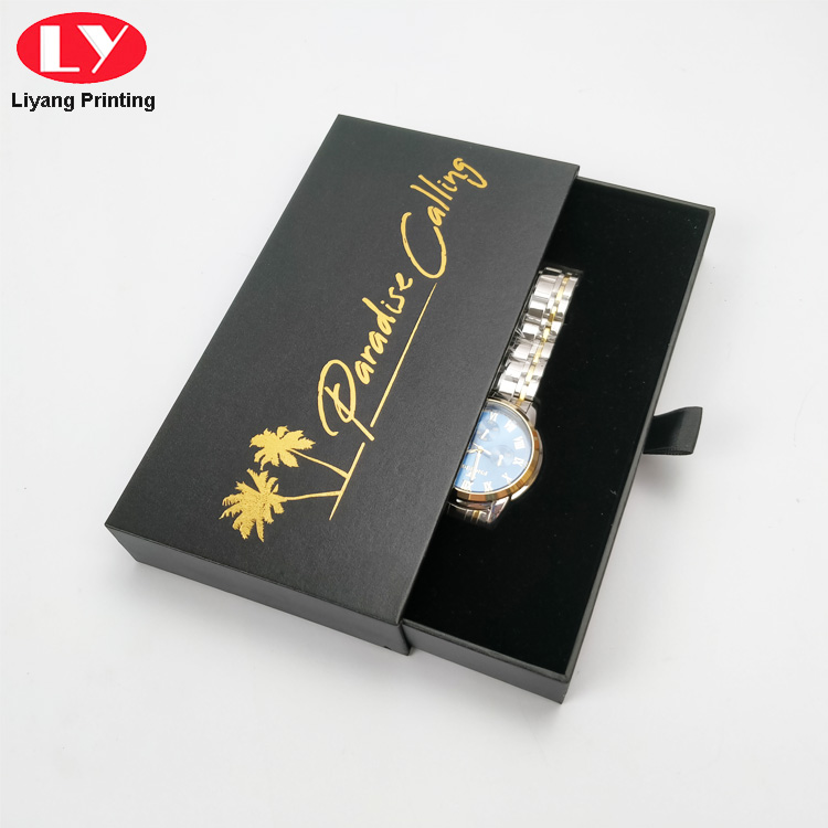 Paper Watch Box Packaging