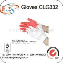 pvc dot gloves