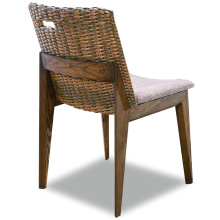 Modern Indoor Wooden Rattan Chair