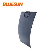 Bluesun Good Quality Flexible Shingle Solar Panel 70W 110W 160W Portable Flexible Solar Panel Flexible Solar Cell Films
