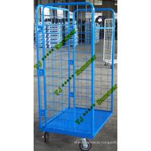 Fabricante de contentores de rolo de aço de supermercado