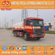 JAC 6x2 20000L water tank truck good quality hot sale in China ,manufacture