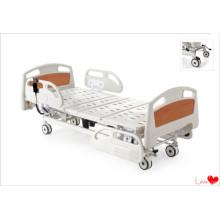 Lit électrique de soins hospitaliers à deux fonctions
