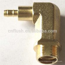 Customized cnc precision brass 90 degree fitting