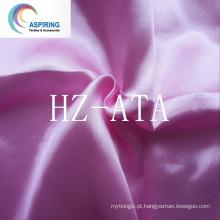100% poliéster tecido de cetim barato 120g / m