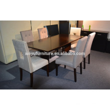 Rectangular restaurant table and chair set XYN1807