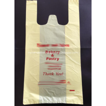 Plastic Bag for Shopping in Yellow