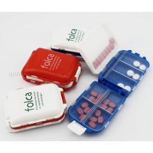 OEM Logo Mini Kunststoff Reise Schmuck Medizin Aufbewahrungsbox