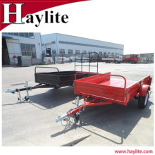 High quality steel used semi tipping farm trailer for sale