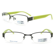 Half Frame Glasses Famous Brands Glasses Frame (BJ12-165)