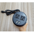 2 prese USB prese Power Strip US