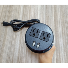 2 enchufes Puertos USB Power Strip US