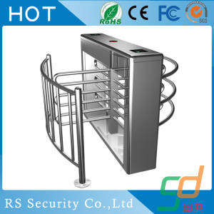 Menghentikan Double Cores Half Height Turnstile Mechanism