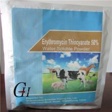Triocianato de eritromicina Polvo soluble en agua