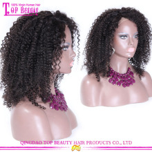 China fabricante atacado perucas afro grande 100% virgem mulheres negras brasileira cabelo humano cabelo afro natural perucas
