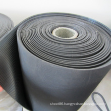 Fine/Broad Corrugated Ribbed Rubber Floor Mats in Rolls