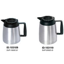 304 Stainless Steel Vacuum Teapot/Coffee Pot/Kettle