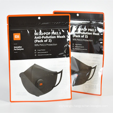 china manufacture packing bag plastic package for Face Mask