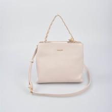 Маленькая ручная сумка Mini Tote с одной ручкой бежевая