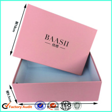 Two-piece Pink Shoe Box Standard Size