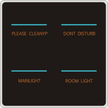 Smart Hotel Intelligenter sicherer Berührungsschalter