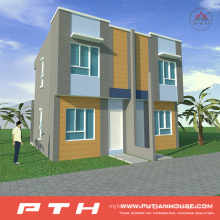 Light Steel Villa House as Prefabricated Luxury Living Home
