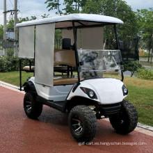 carrito de golf de jardín de gasolina con precio bajo