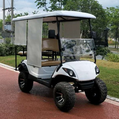 Retro 6-zits off-road gas aangedreven golfkar