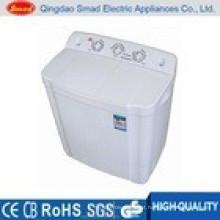 Uso doméstico semi automático twin banheira máquina de lavar roupa preço