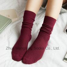 Calcetines de moda niña calcetines largos de invierno cálido