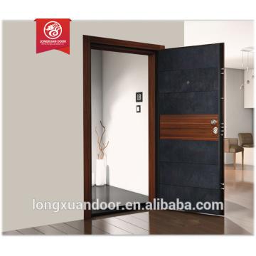 Italien Tür Stil gepanzerte Holz Stahl Tür Design Sicherheit Tür für Häuser Qualität Wahl