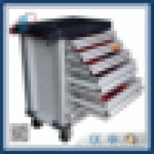 Metall-Werkzeugkasten-Trolley mit 6 Schubladen