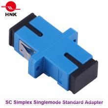 Sc Simplex одномодовый стандартный пластиковый оптоволоконный адаптер