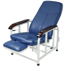 Hospital chair recliner in the ward