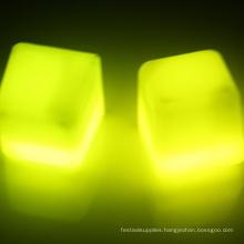 lighting ice cubes