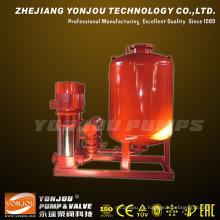 Sistema de bombeo de suministro de agua para incendios de alto edificio