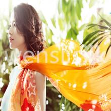 Tecido de seda (Wensli silk040630E17)