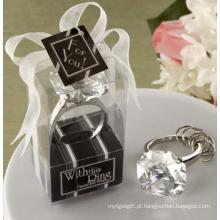 Hotel Decoração Crystal Diamond Napkin Ring