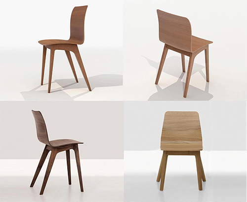 Morph Suede Chair