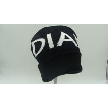 Top Quality Coloftul Jacquard Acrylic Knitting Hat Cap (ACEK0078)