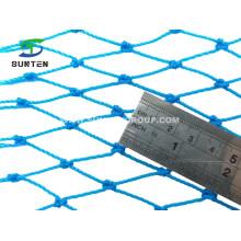 Factory Price UV Resistant Customized Blue HDPE Cargo Net, Fall Arrest Net, Safety Catch Net, Cargo Climbing Net in Outdoor Playground, Amusement Park
